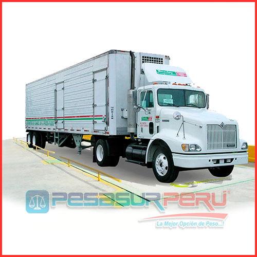 Balanza Digital Pesa Camiones de hasta 30 Toneladas