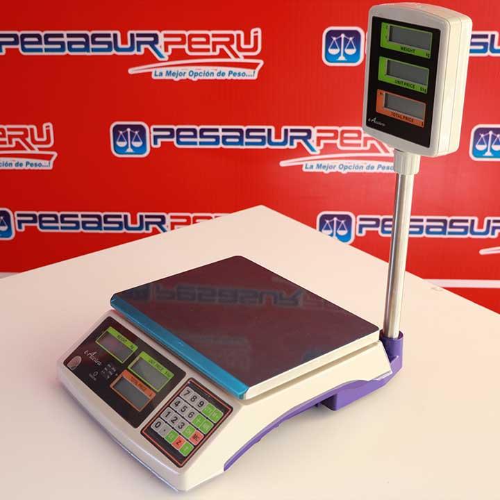Balanza Digital Comercial e-Accura de 30 kg con Torre