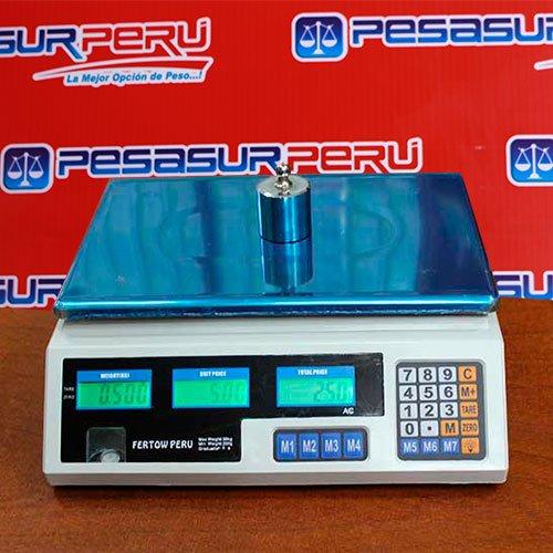 Balanza Digital Comercial Fertow Perú AC de 30 Kg