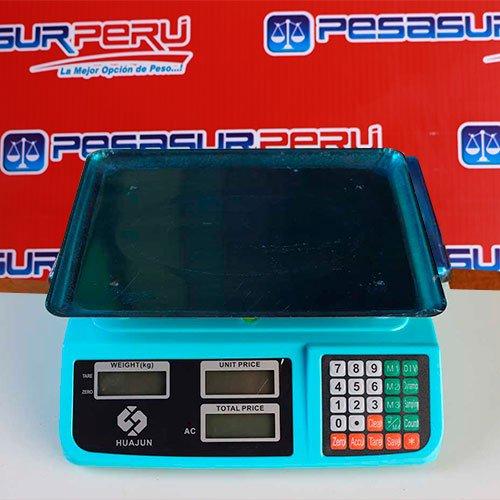 Balanza Digital Comercial Huajun AC de 30 Kg