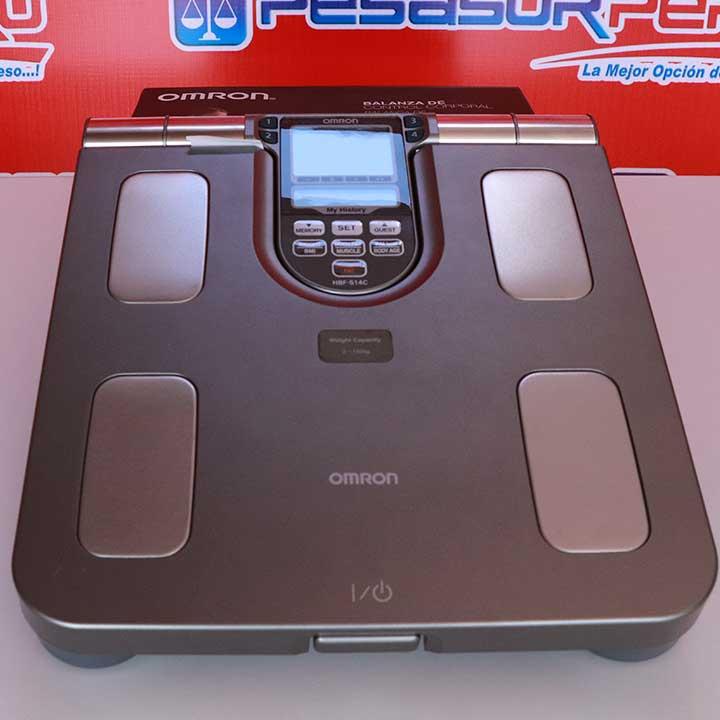 Balanza OMROM para medir grasa Corporal de 180 Kg