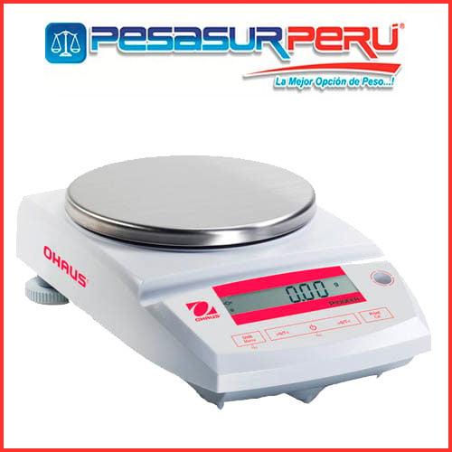 Balanza Digital de Precisión Ohaus Pioner cp4102 de 4000 Gr