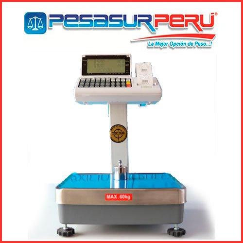Balanza Digital Etiquetadora PPP de 60 Kg