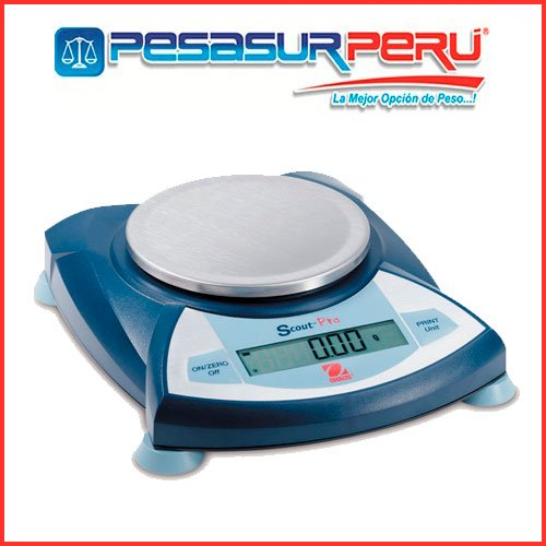 Balanza Digital de Precisión Ohaus Scout Pro de 5000 Gr